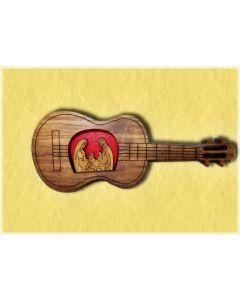 Presepe nella chitarra