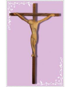 Crocifisso in legno stilizzato