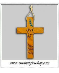 Croce cresima dipinta