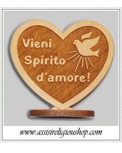 """Cuore """"Vieni spirito d'Amore"""""""