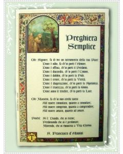 Preghiere di San Francesco