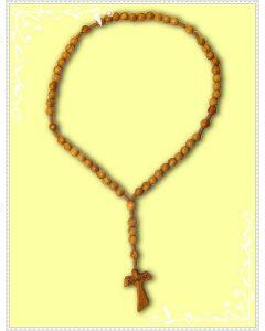 Rosario in legno di olivo