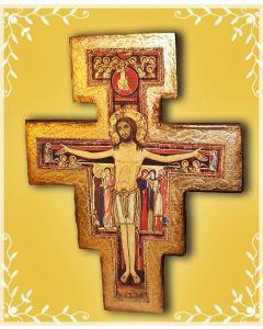 Crocifisso di San Damiano in legno